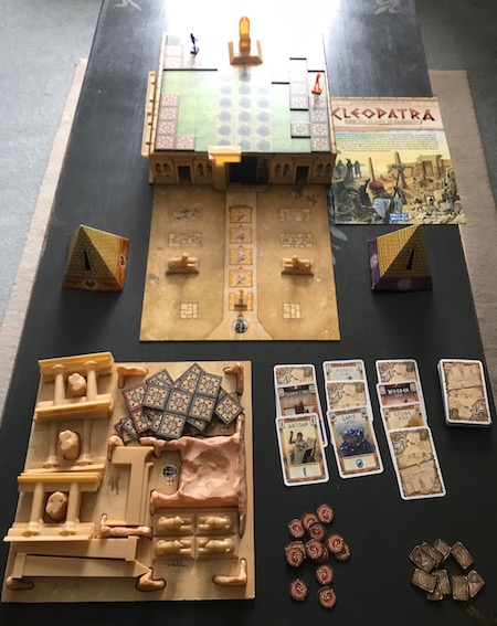 Cleopatra game contents
