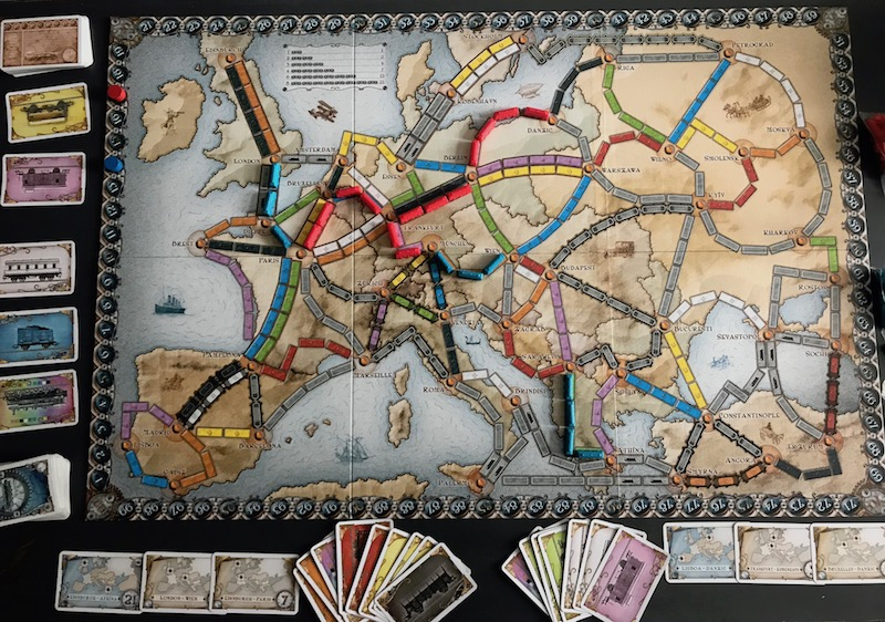 Ticket to ride setup